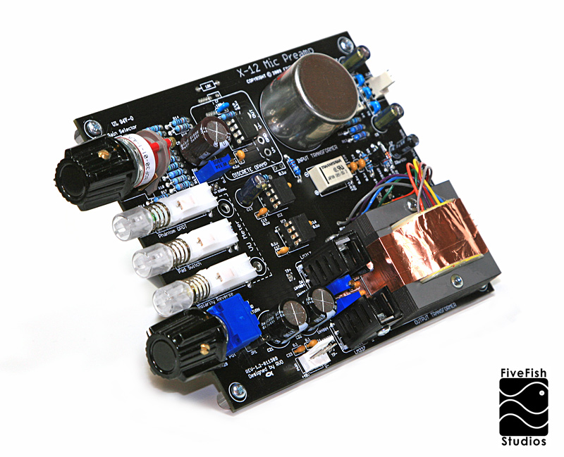 Fivefish audio x 12 mic preamp kit x 12 mic preamp kit solutioingenieria Gallery