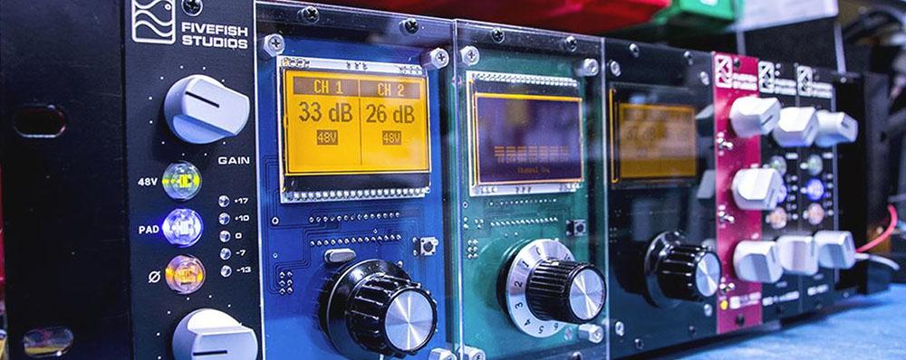 FiveFish Audio - DIY Mic Preamp Kits, 500 Series Kits, VPR Certified