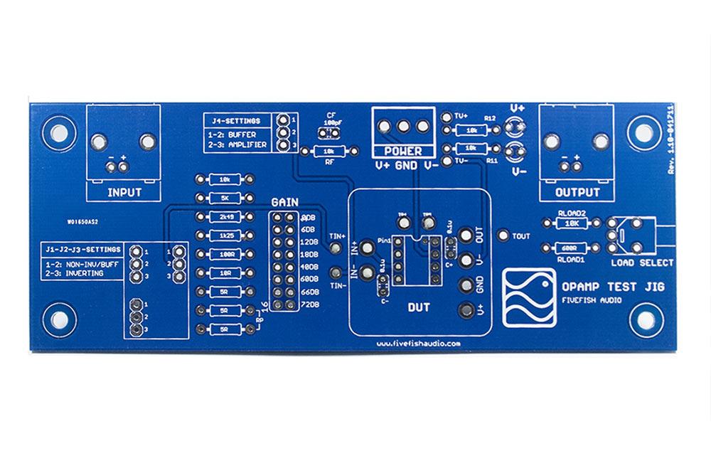 fivefish audio opamp test jigopamp test jig
