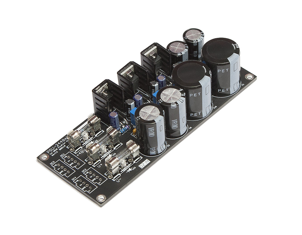 PSU-2448 Power Supply Kit, PSU Kit for Audio Projects - FiveFish Audio