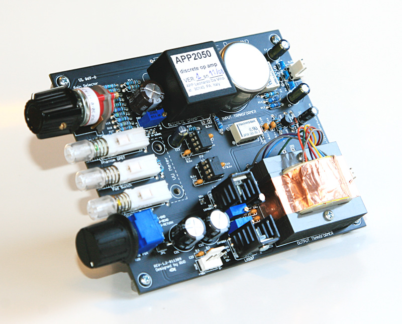 FiveFish Audio - X-12 Mic Preamp Kit